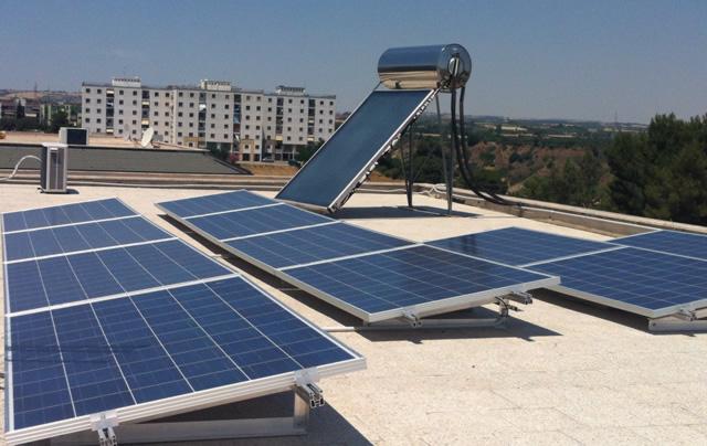 Pannello Solare Termico Integrato : E s a srl galleria progetti